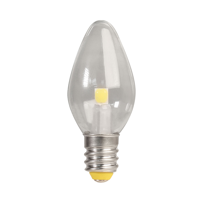 Feit Electric LED Bulb - C7 Night Light - Soft White - 4/Pack