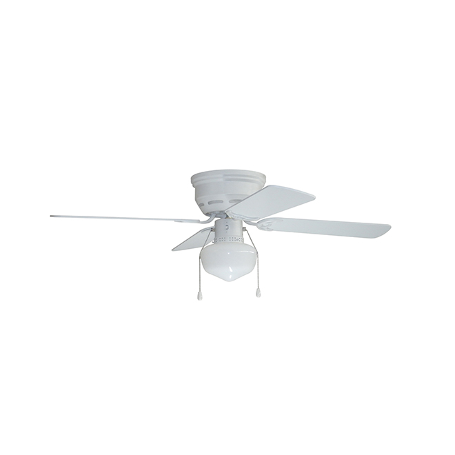 Armitage Ceiling Fan - 42'' - 4 Blades - 1 LED Light - White