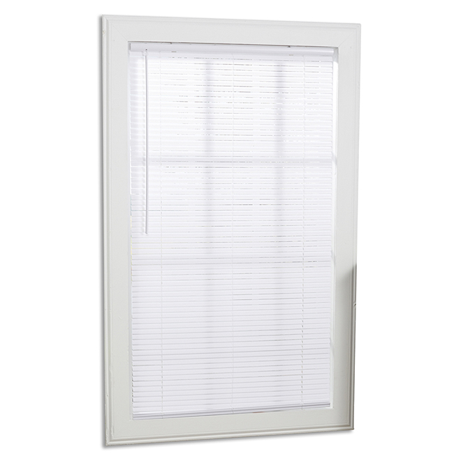 Allen + Roth Filtering Cordless Shade - Vinyl - 60-in x 64-in - White