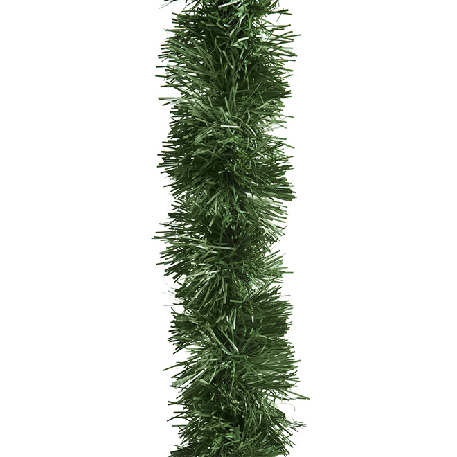 Soft Pine Garland - Indoor and Outdoor - 100-ft - Green
