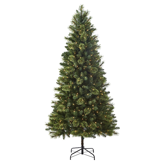 Christmas Tree - 500 Incandescent Lights - 819 Tips