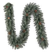"""Guirlande de pin, vert, 9' x 10"""""""