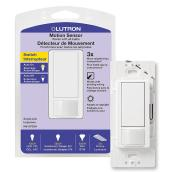Interrupteur sensoriel simple digital, Lutron, plastique 250 W, blanc