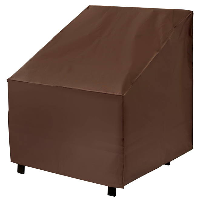 Armor All Conversation for Oversized Patio Chair Cover - 35 x 33 x 36-in - Brown