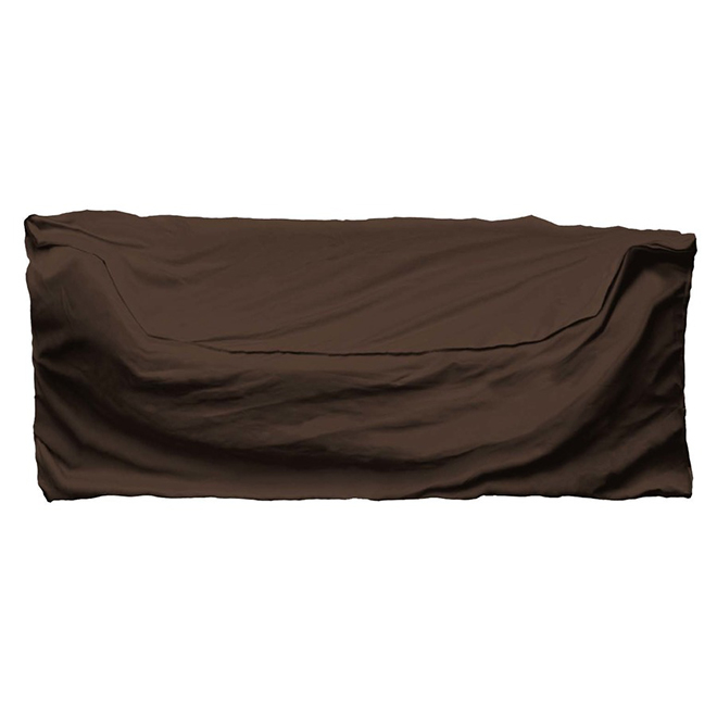 Conversation Patio Loveseat Cover - 35-in x 32-in x 60-in - Brown
