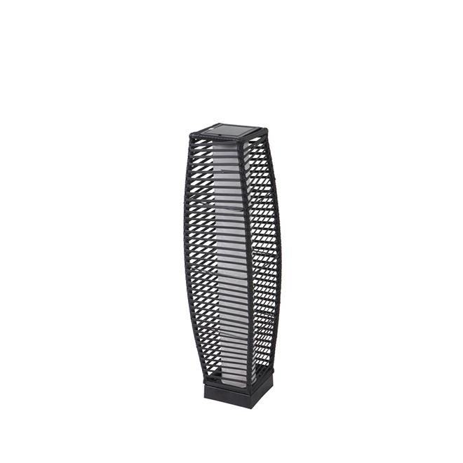 "Piedmont Solar Lantern - LED - 30.7"" - Black"