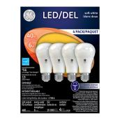 LED Bulb A19 7 W - Dimmable - Soft White - 4PK