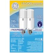 LED Bulb - Bright Stik - 16W - Daylight - 2-Pack