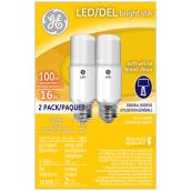 LED Bulb - Bright Stik - 16W - Soft White - 2-Pack