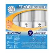 LED Bulb - Bright Stik - 10W - Soft White - 3-Pack