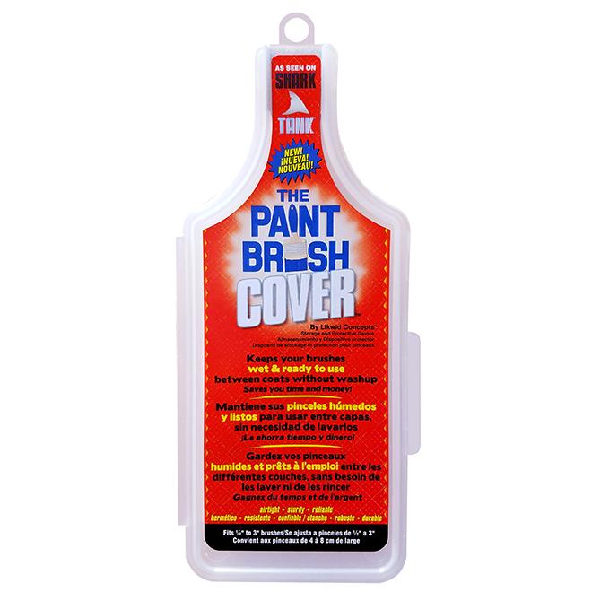 Plastic Paint Brush Cover