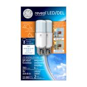 LED Bright Stik(TM) Bulb - Warm White - 6 W - 2PK