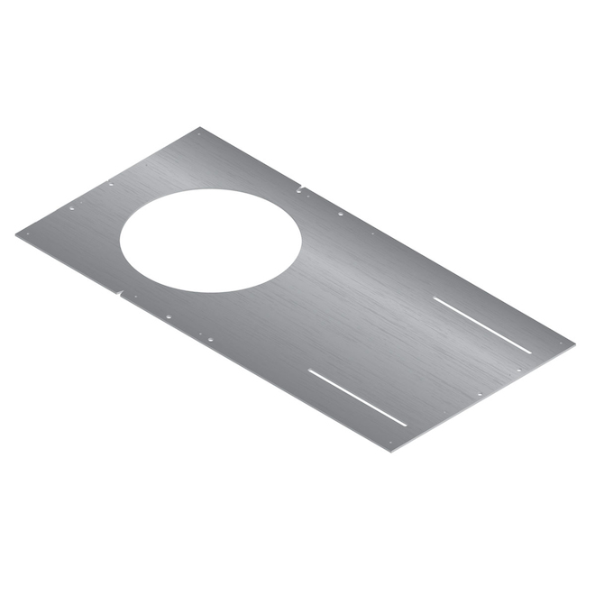 Mounting Plate for Round Recessed Lights, Galvanized Steel