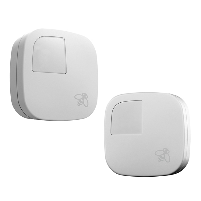 ECOBEE Smart Room Temperature Sensors - White - 2/Pack