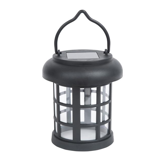 Solar Umbrella Clip Light - Black