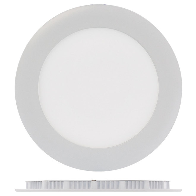 "LED Recessed Light - TRENZ - 12 W - 6"" - White"