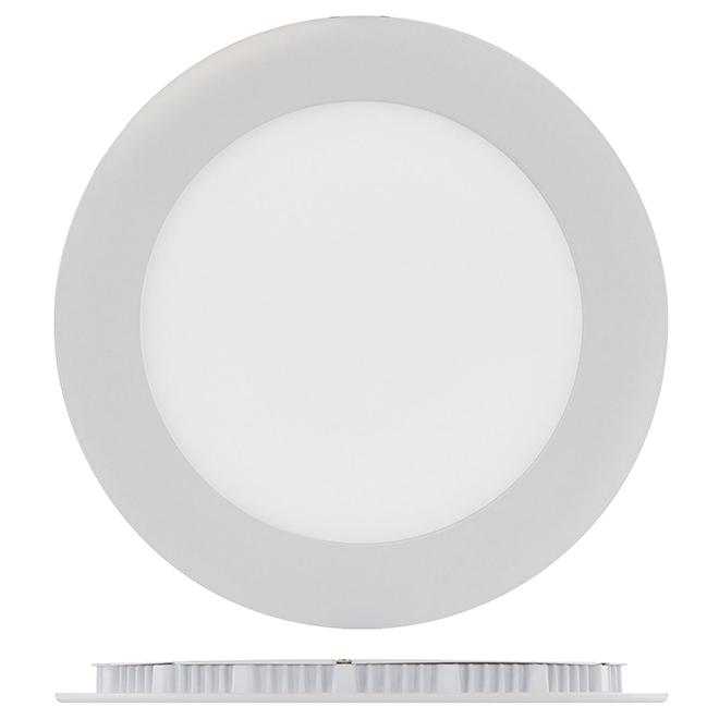"6"" Round Recessed Light - 12W LED - 4000K - White"