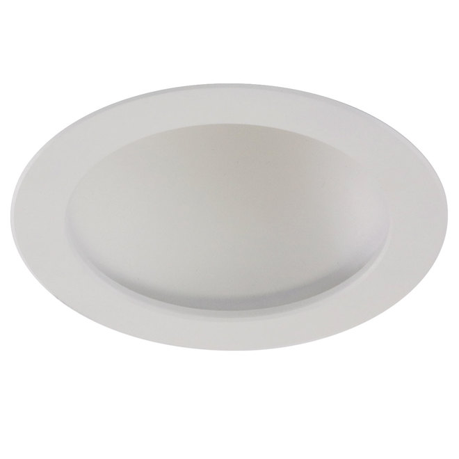 "6"" Indirect Round Recessed Light - 12 W LED - White"