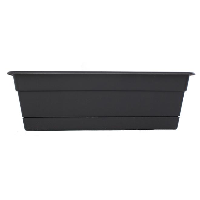 Window Planter - Resin - 18'' - Black