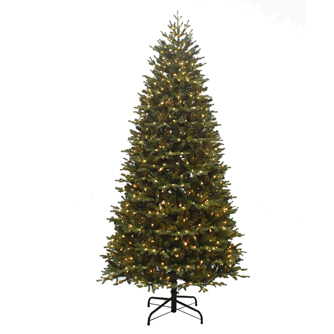 Pre-Lit Montana Christmas Tree - 800 Lights - 7.5'