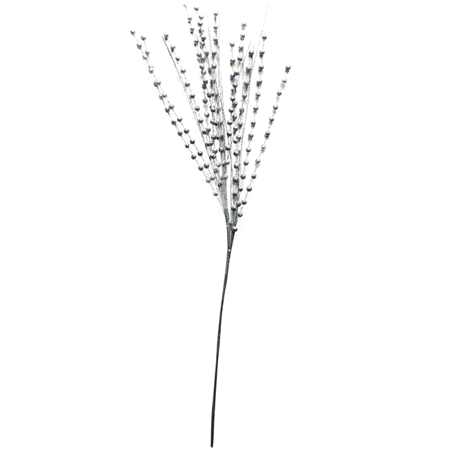 "Decorative Weeping Branch - 42"" - Silver"