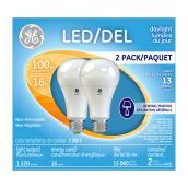 Ampoule DEL A21 16 W, lumière du jour, 2/pqt