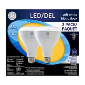 LED Bulb BR30 10 W - Dimmable - Soft White - 2PK