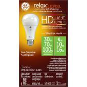 Ampoule DEL A21, triple intensité, blanc doux