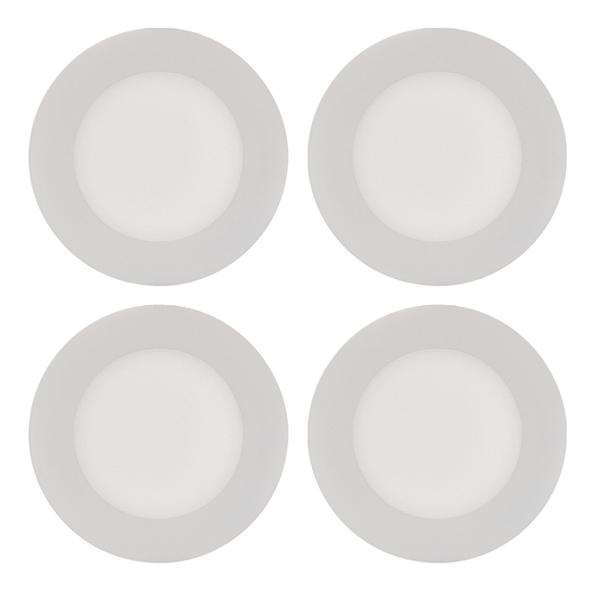 THINLED(TM) Recessed Light - 9 W - White - 4/PK