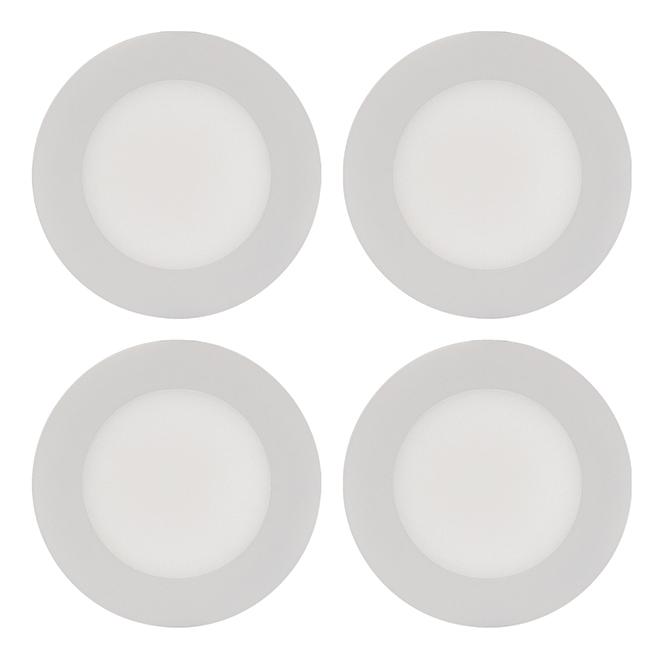 Encastré DEL THINLED(MC), 9W, blanc, 4/pqt
