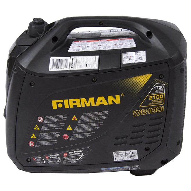 Firman Whisper Series Gas Inverter Portable Generator - 1700/2100 W