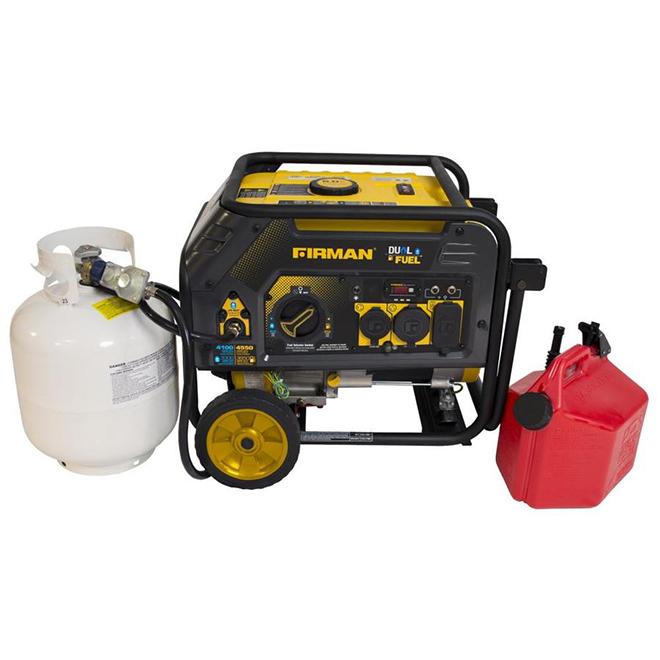 Hybrid Series Portable Generator - Gas/Propane - 3650 W