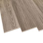 Lamelles en vinyle Duraclic, Riverstone, 6 mm, 23,64 pi², gris