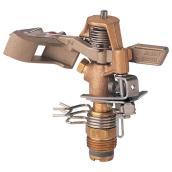 Brass Impulse Sprinkler Head - 20'- 41' Radius - 1/2 Inlet