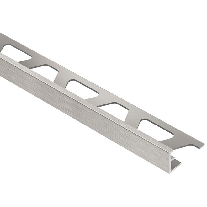 "1/2"" Tile Edge - Aluminum - Brushed Nickel"