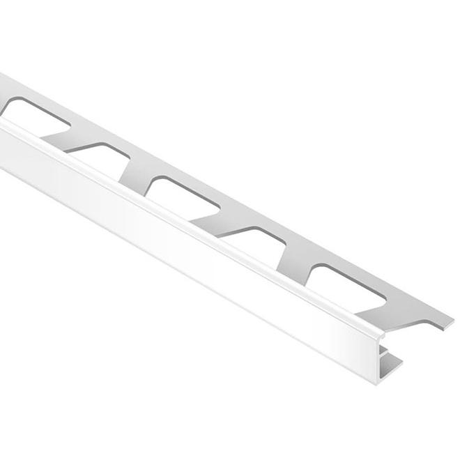 "3/8"" Tile Edge - PVC - Bright White"