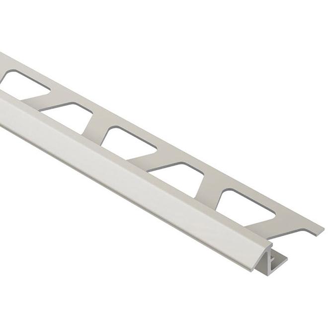 "3/8"" Reducing Moulding - Aluminum - Satin Nickel"