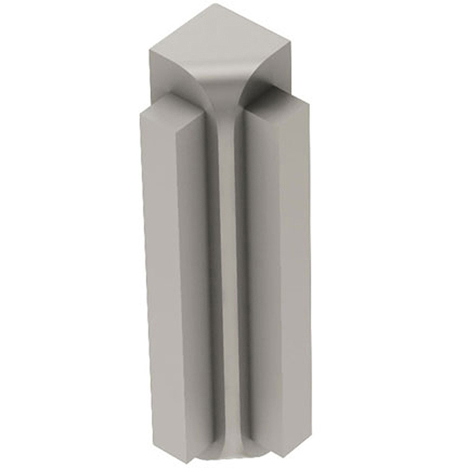 "Rondec-Step 3/8"" Inside Corner - 90° - Satin Nickel"