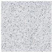 "Non-Adhesive Vinyl- 18"" x 8'- Speckled Black/White"