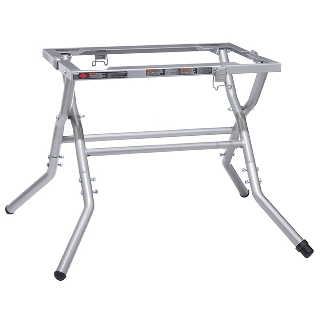 Folding and Portable Steel Table Saw Stand