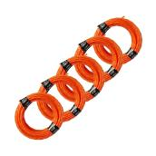Ego Pre-Cut Trimmer Lines - 14-ft - Pack of 5 - Orange