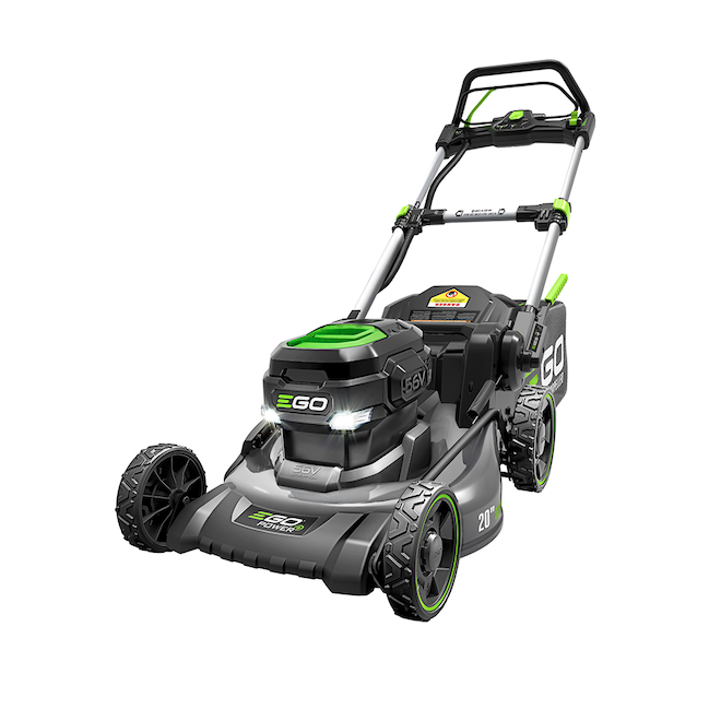 EGO Power+ 56 V Self-Propelled Electric Lawn Mower with 20-in Steel Deck - 7.5 Ah LM2022SP