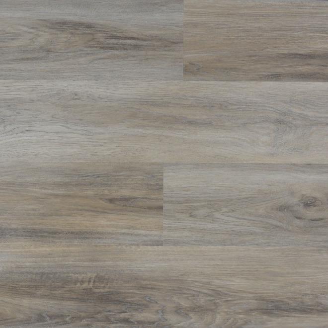 Plancher de vinyle Duraclic XRP de 7,1 po x 48 po, 23,64 pi², chêne Brume de Sierra