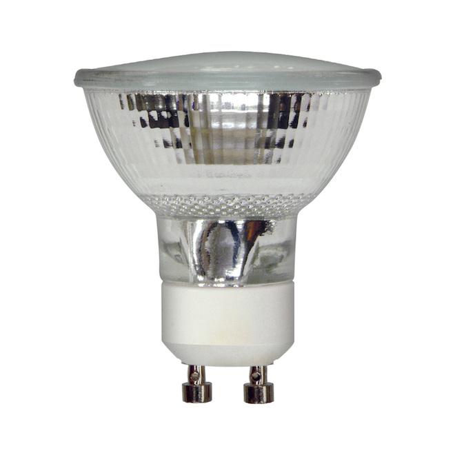 Ampoules halogènes d'intérieur blanc doux de 50W de GE, GU10, paquet de 3