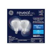 LED Bulb BR30 9 W - Soft White - Pack of 2