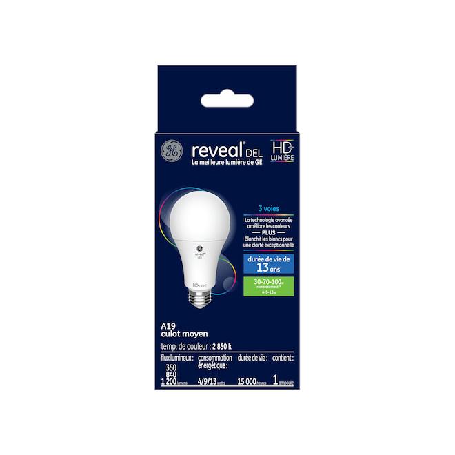 Ampoule DEL Reveal(MD), A21 HD, 3 intensités, 4-7-13 W, blanc