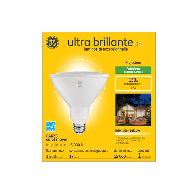 GE Nighthawk LED Bulb - 17 W - Outdoor - Warm White
