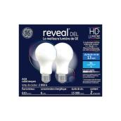 Ampoule DEL Reveal(MD), réglable, A19 HD, 8,0 W, blanc, 2/pqt