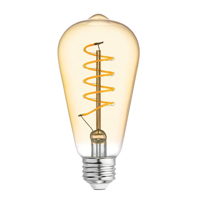 Ampoule DEL GE, ST19 SPI, 5,0 W, lumière style chandelle
