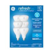 HD LED Bulb - BR30 - 10 W - Plastic - Day Light - 6-Pack